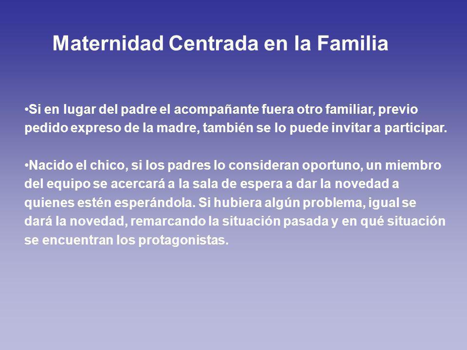Maternidad Centrada en la Familia