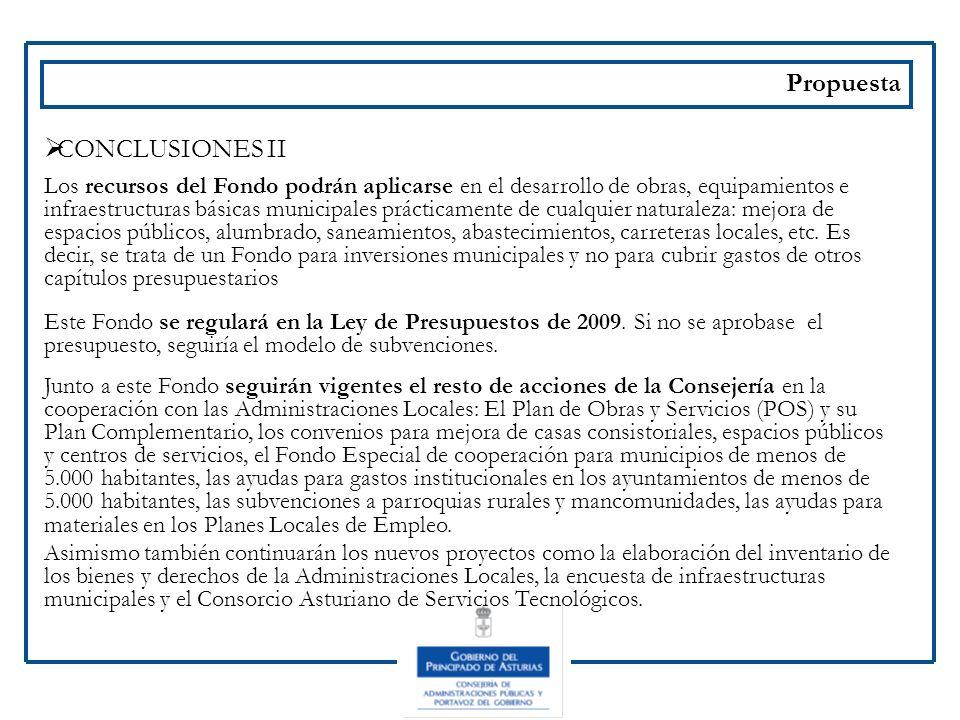 Propuesta CONCLUSIONES II