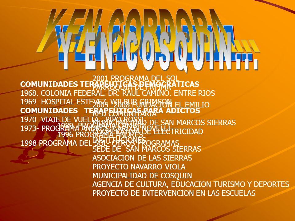 1998 PROGRAMA DEL SOL- OTROS PROGRAMAS