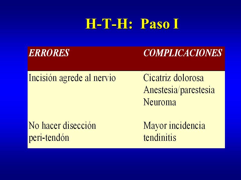 H-T-H: Paso I