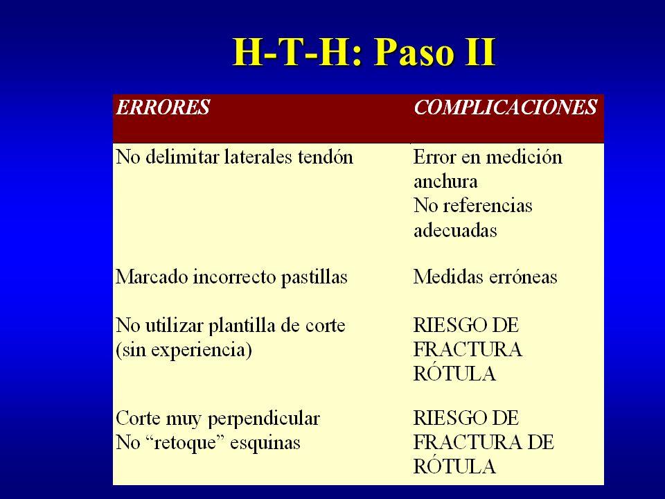 H-T-H: Paso II