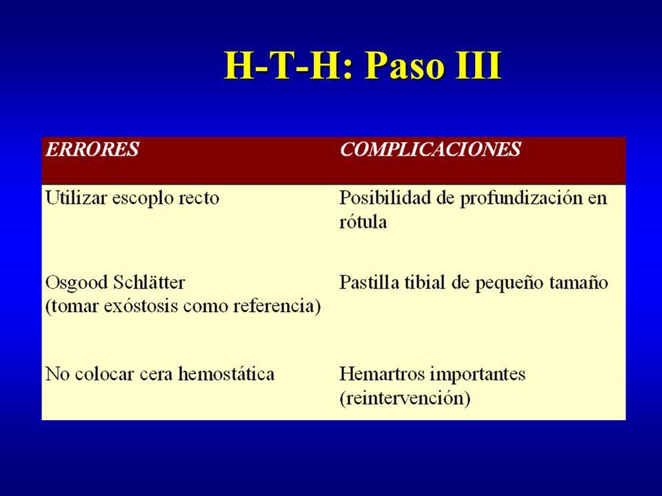 H-T-H: Paso III