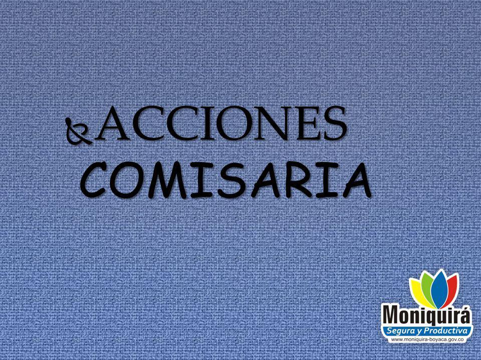 ACCIONES COMISARIA