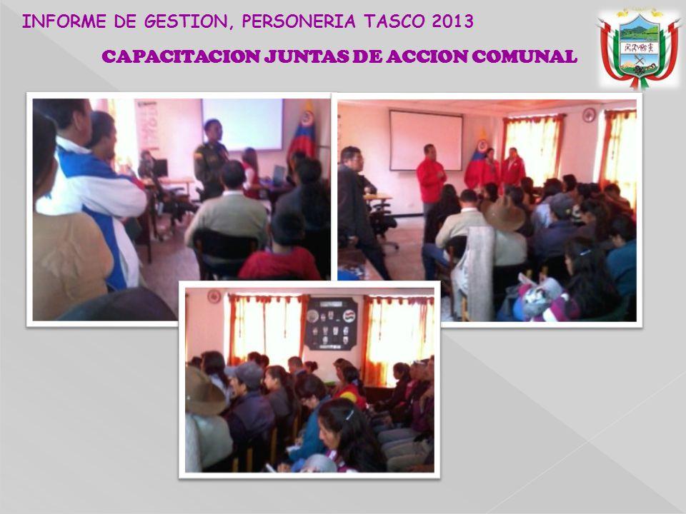 CAPACITACION JUNTAS DE ACCION COMUNAL