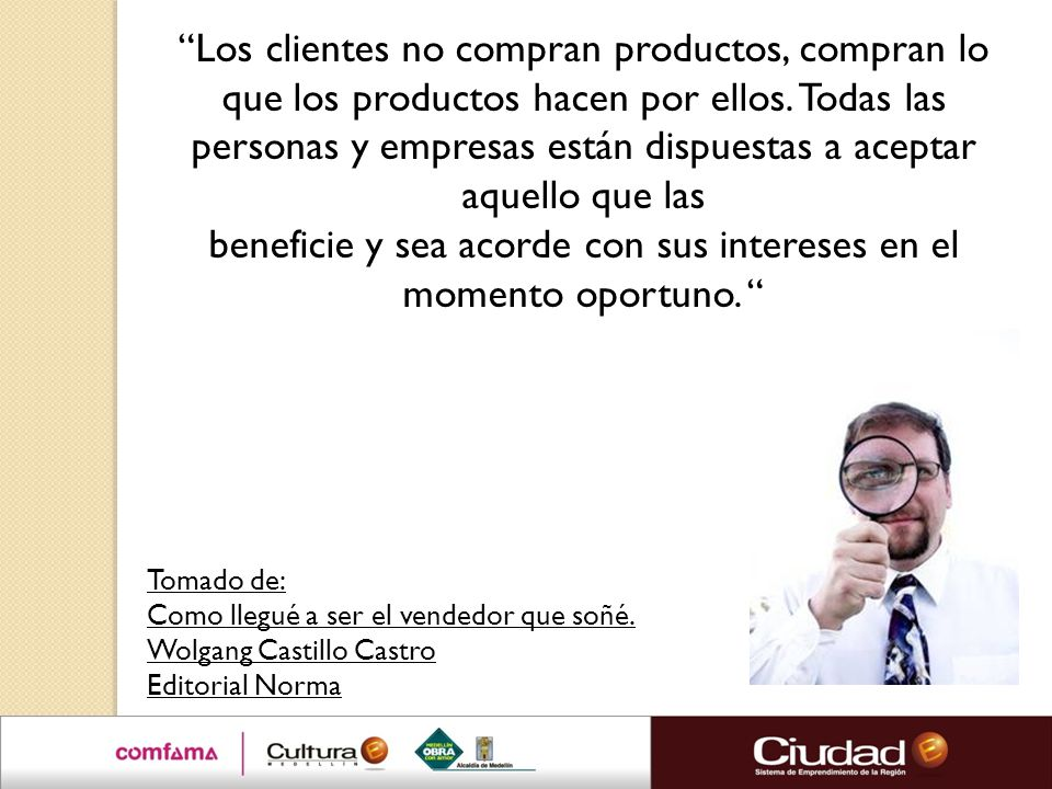 beneficie y sea acorde con sus intereses en el momento oportuno.