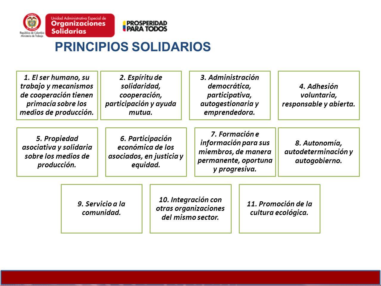 PRINCIPIOS SOLIDARIOS