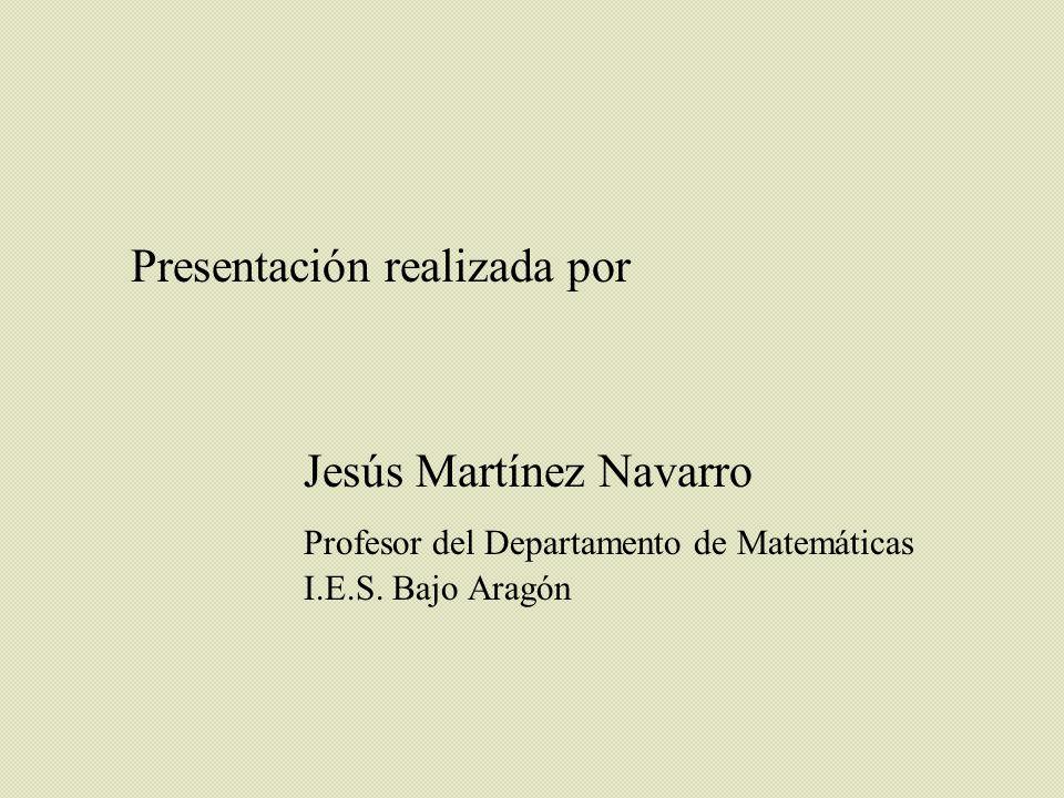 Presentación realizada por