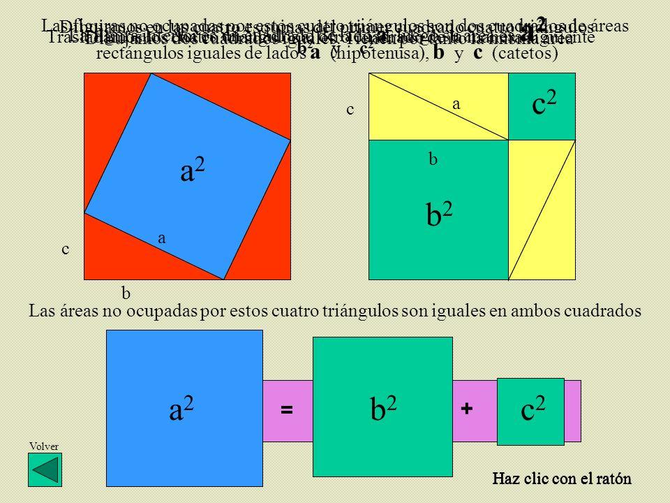 Dibujamos dos cuadrados iguales. Tienen por tanto la misma área