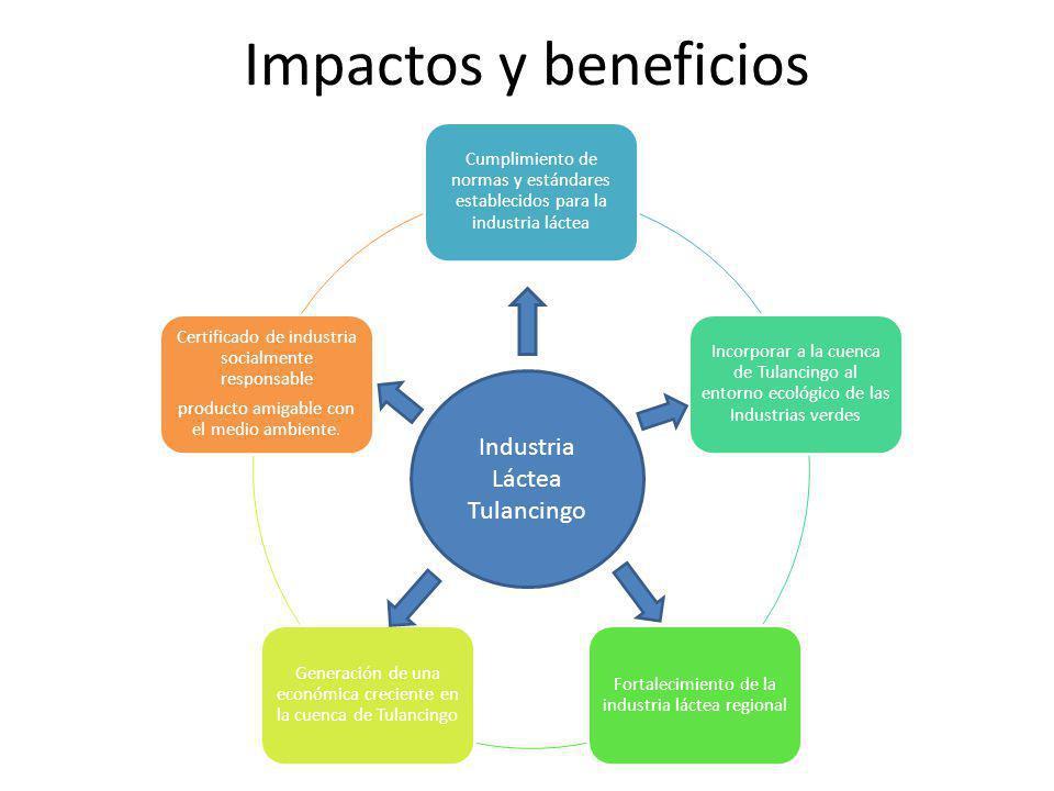 Impactos y beneficios Industria Láctea Tulancingo