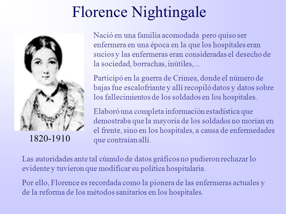 Florence Nightingale 1820-1910