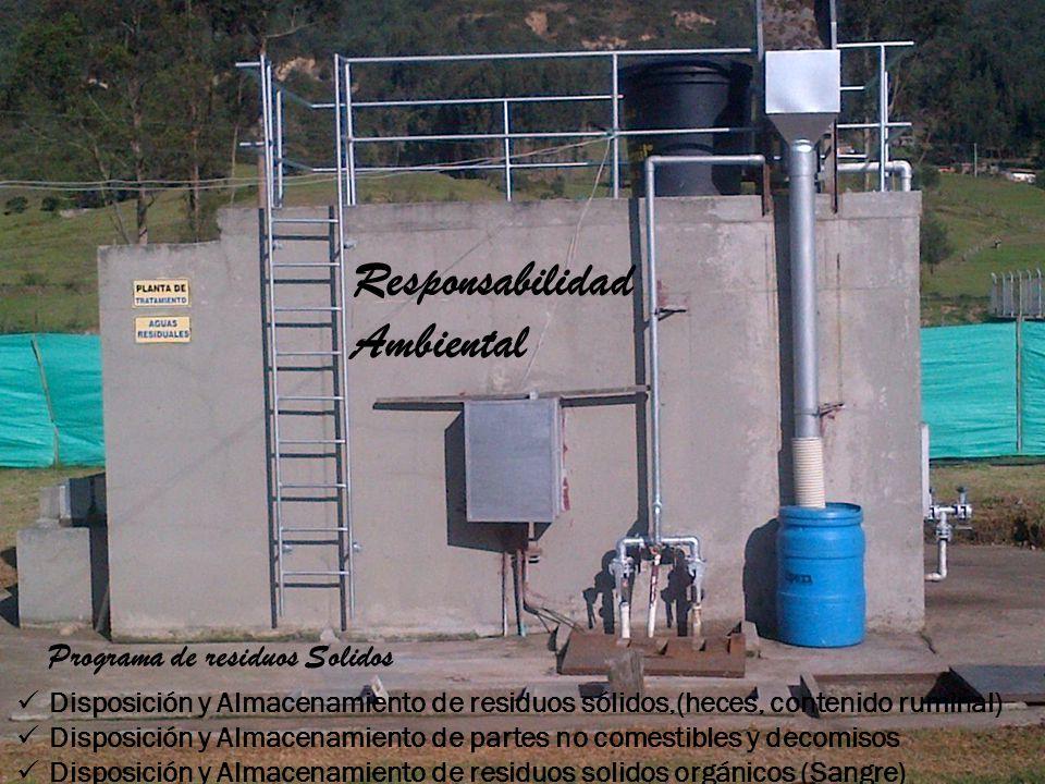 Responsabilidad Ambiental Programa de residuos Solidos