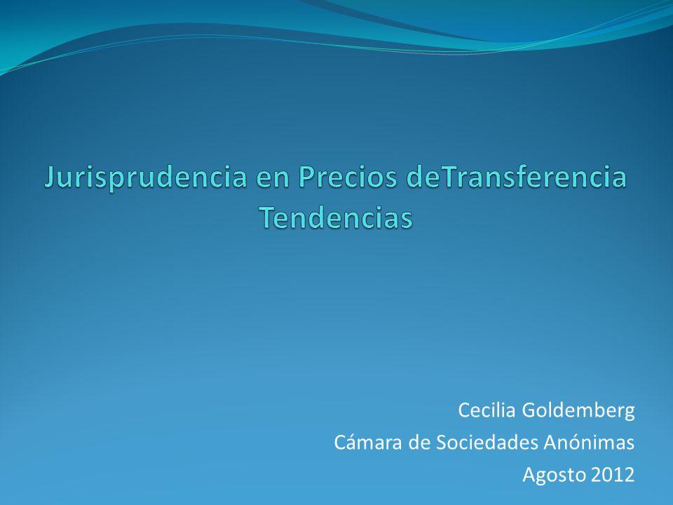 Jurisprudencia en Precios deTransferencia Tendencias