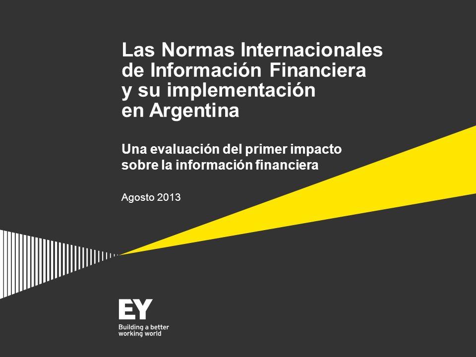 Las Normas Internacionales de Información Financiera y su implementación en Argentina