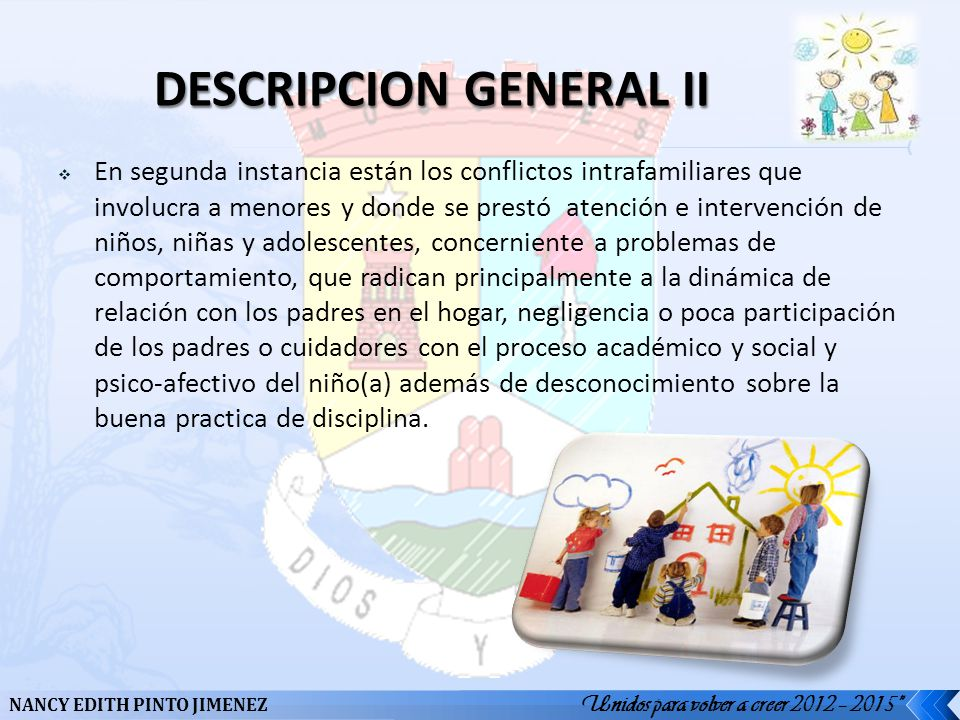 DESCRIPCION GENERAL II
