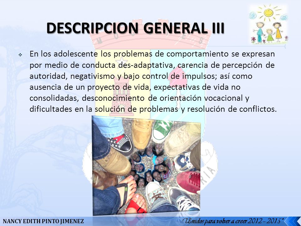 DESCRIPCION GENERAL III