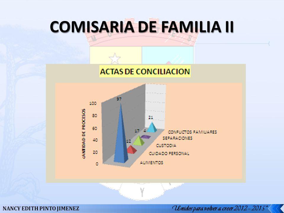 COMISARIA DE FAMILIA II