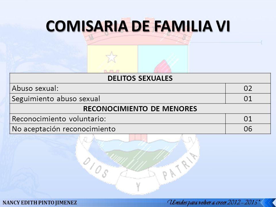 COMISARIA DE FAMILIA VI