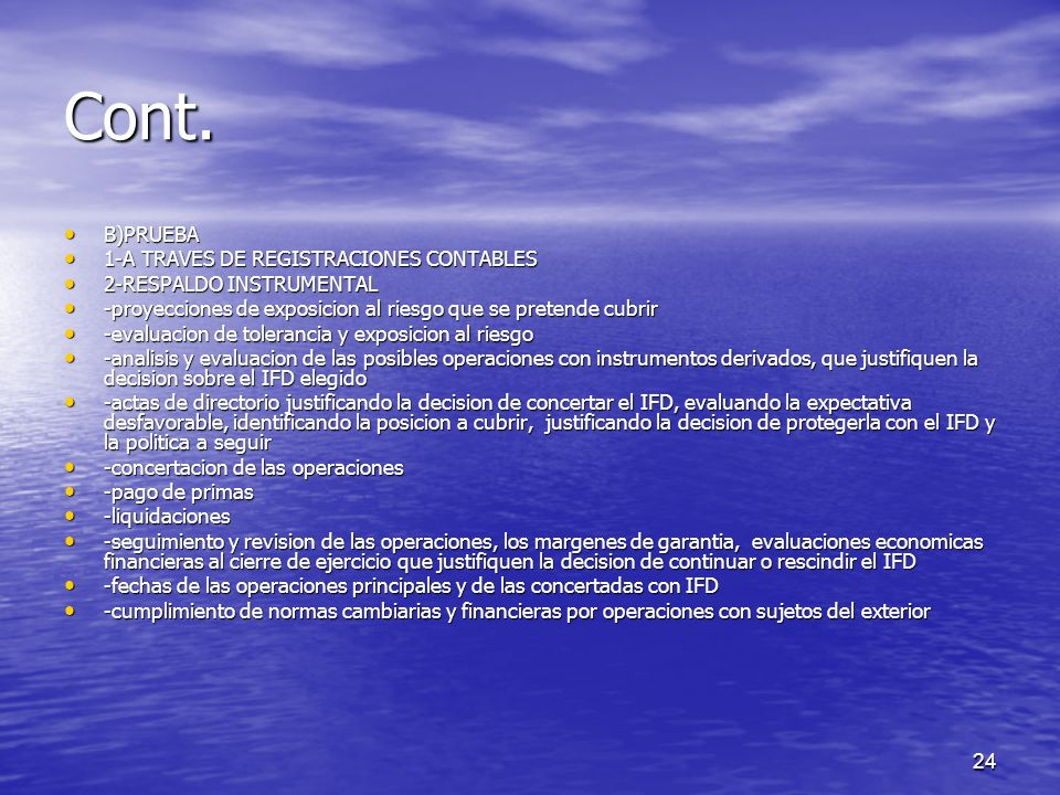 Cont. B)PRUEBA 1-A TRAVES DE REGISTRACIONES CONTABLES