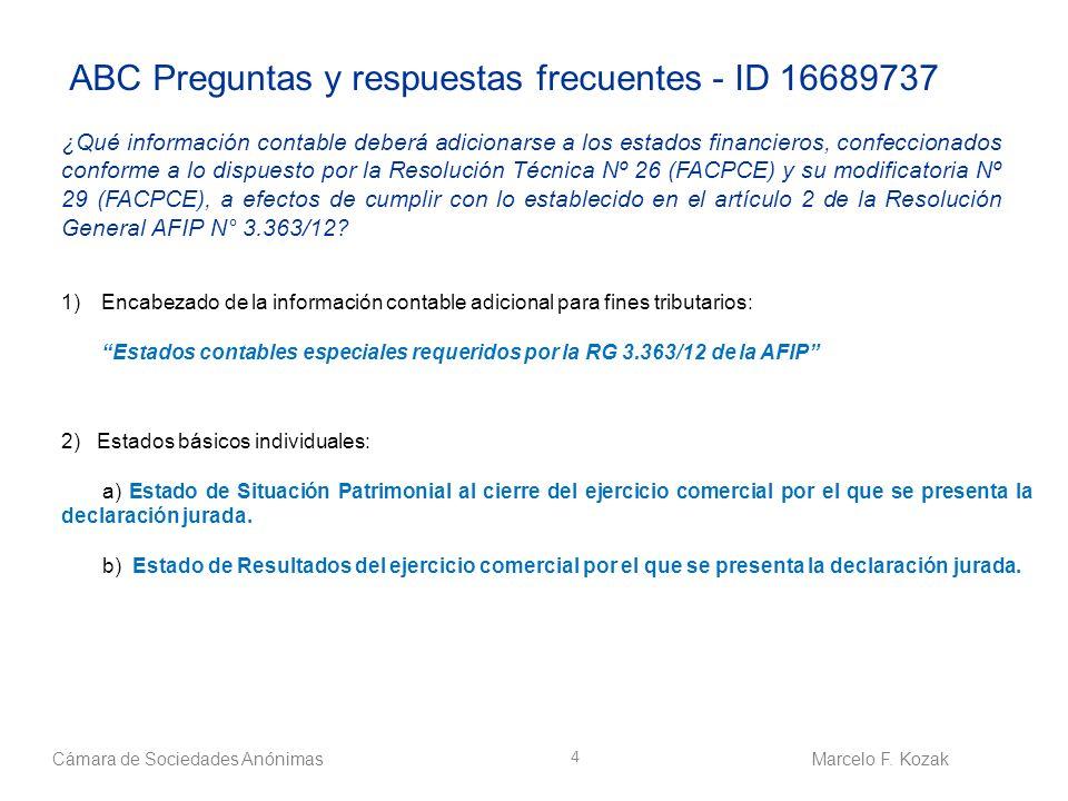 ABC Preguntas y respuestas frecuentes - ID 16689737