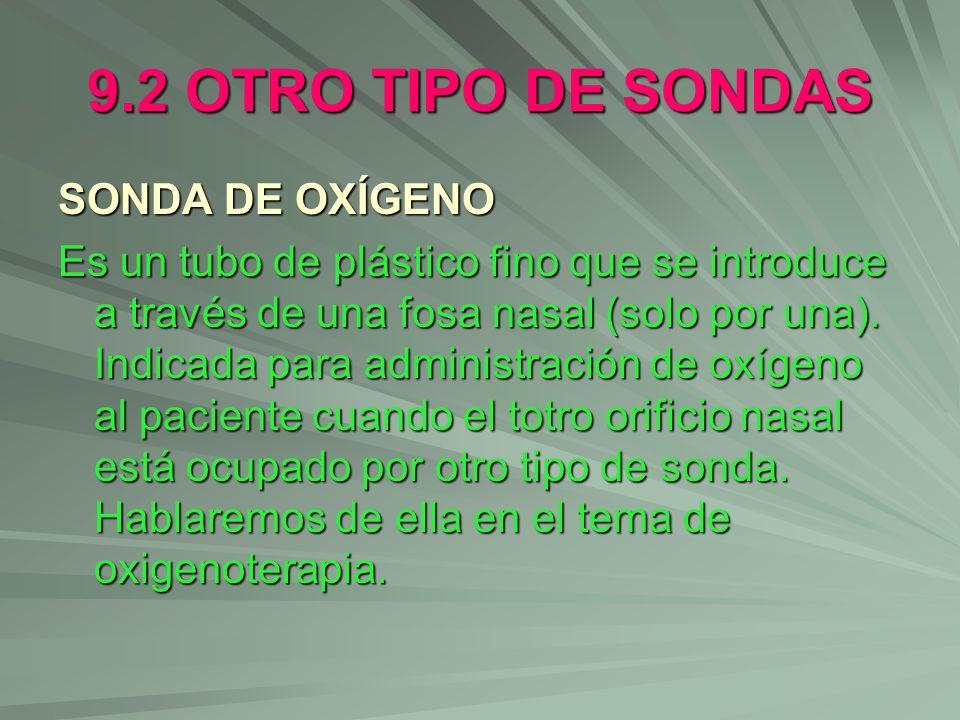 9.2 OTRO TIPO DE SONDAS SONDA DE OXÍGENO