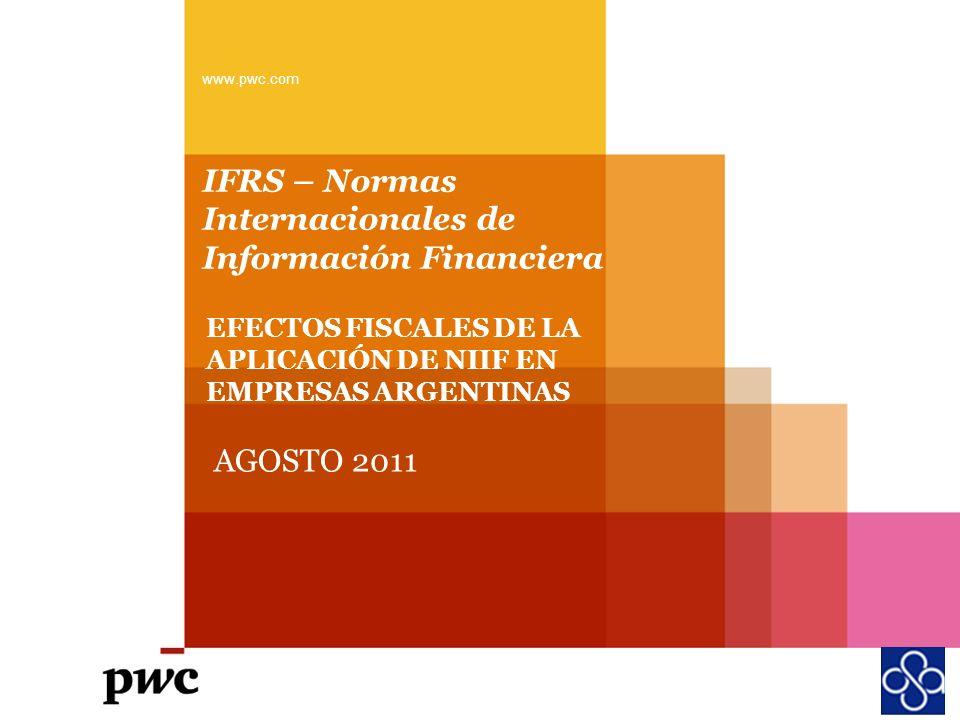IFRS – Normas Internacionales de Información Financiera
