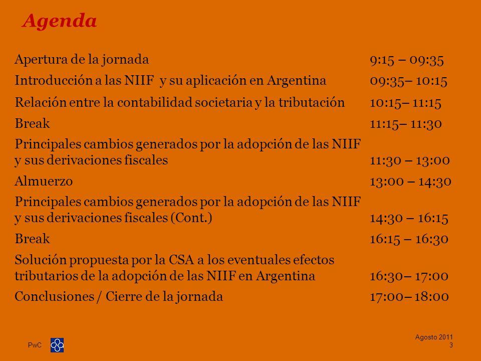 Agenda Apertura de la jornada 9:15 – 09:35