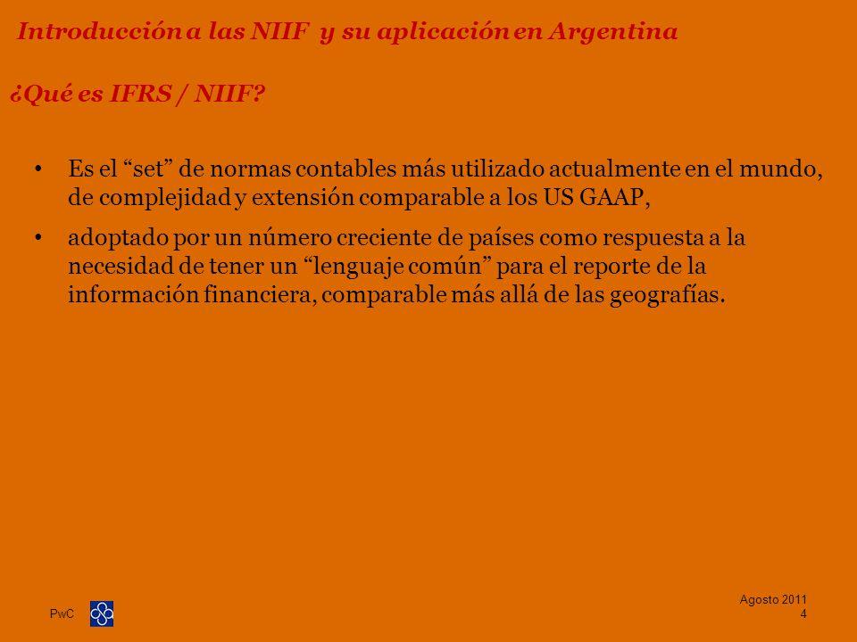 Introducción a las NIIF y su aplicación en Argentina