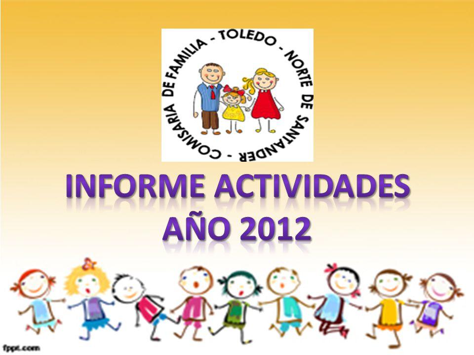 INFORME ACTIVIDADES AÑO 2012