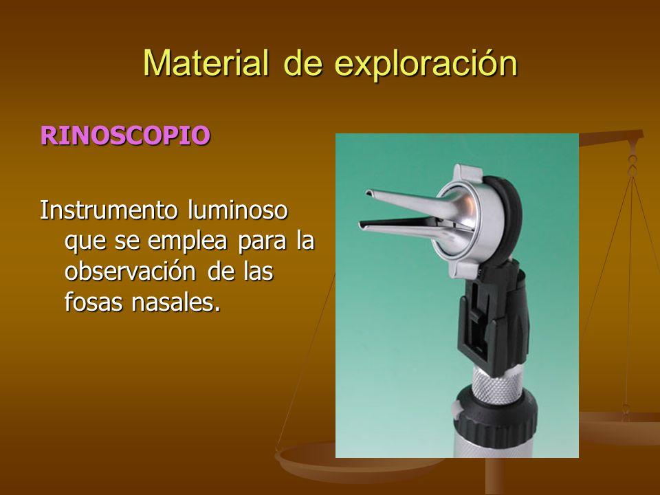 Material de exploración