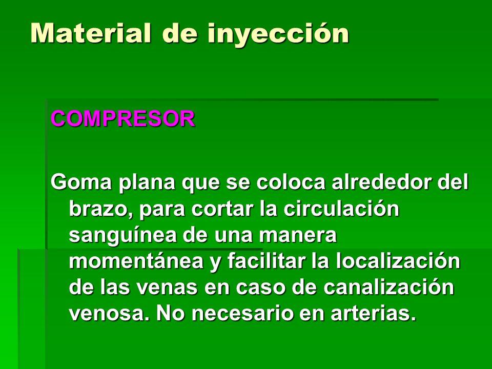 Material de inyección COMPRESOR