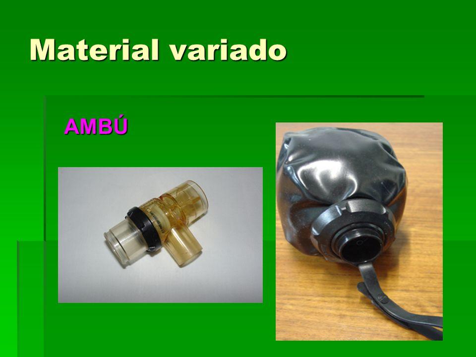 Material variado AMBÚ