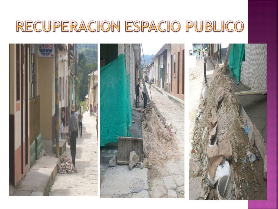 RECUPERACION ESPACIO PUBLICO