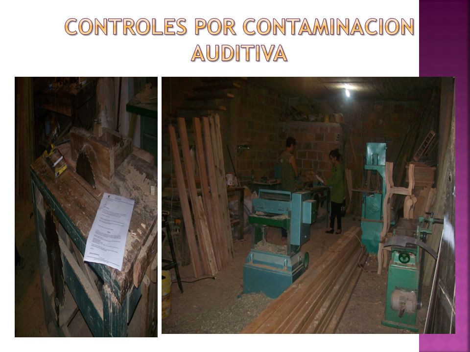 CONTROLES POR CONTAMINACION AUDITIVA