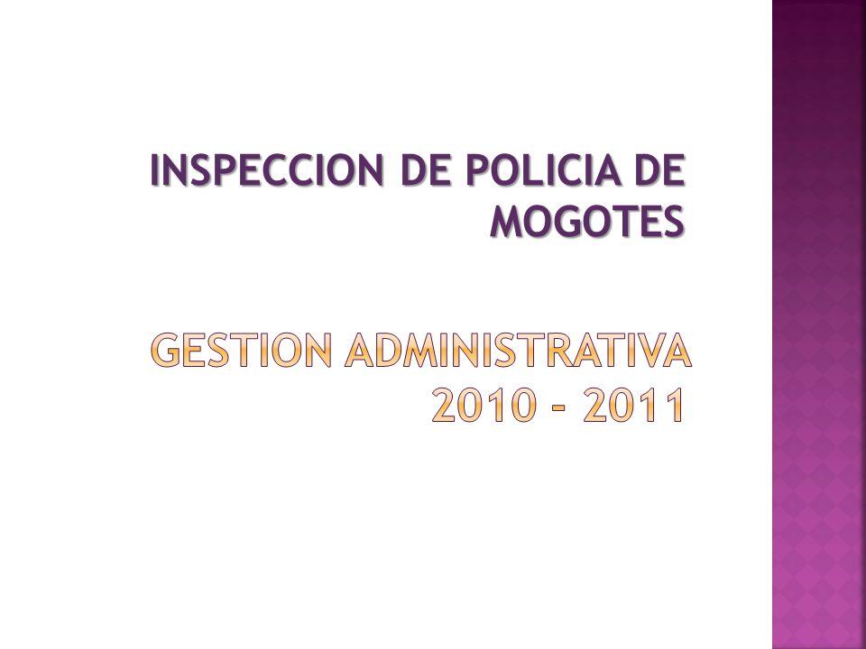 GESTION ADMINISTRATIVA 2010 - 2011