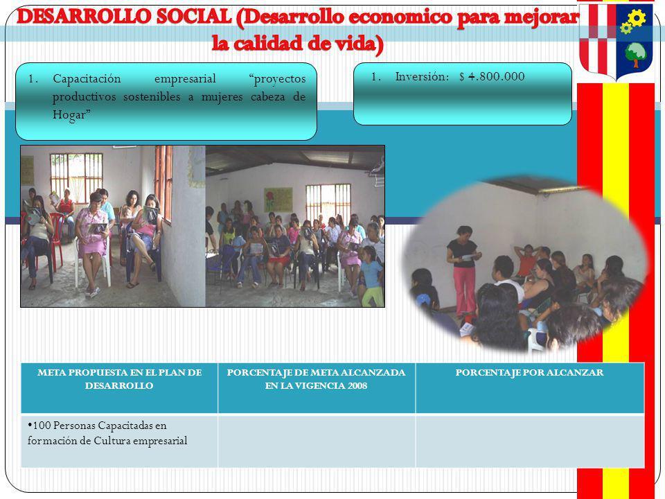 DESARROLLO SOCIAL (Desarrollo economico para mejorar la calidad de vida)