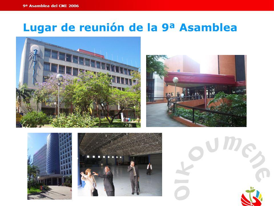 Lugar de reunión de la 9ª Asamblea