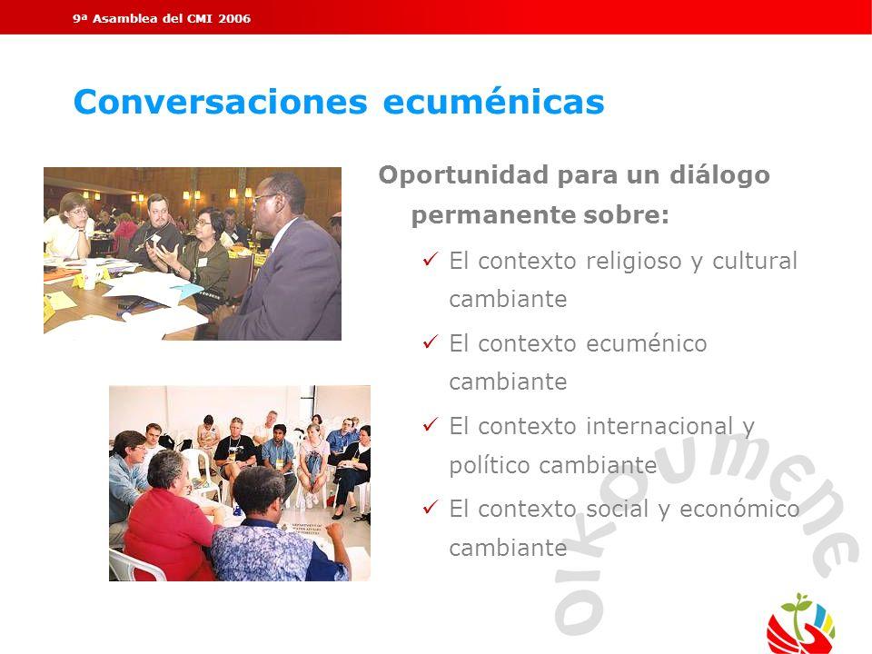 Conversaciones ecuménicas