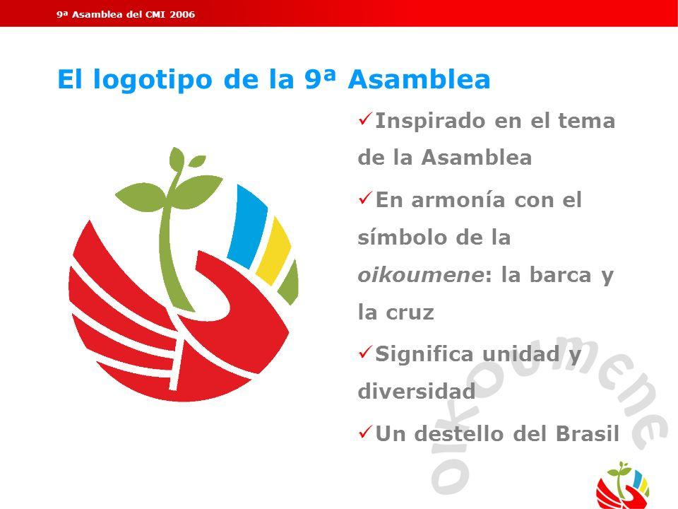 El logotipo de la 9ª Asamblea