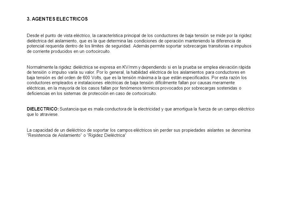 3. AGENTES ELECTRICOS