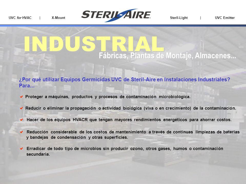 INDUSTRIAL Fábricas, Plantas de Montaje, Almacenes...
