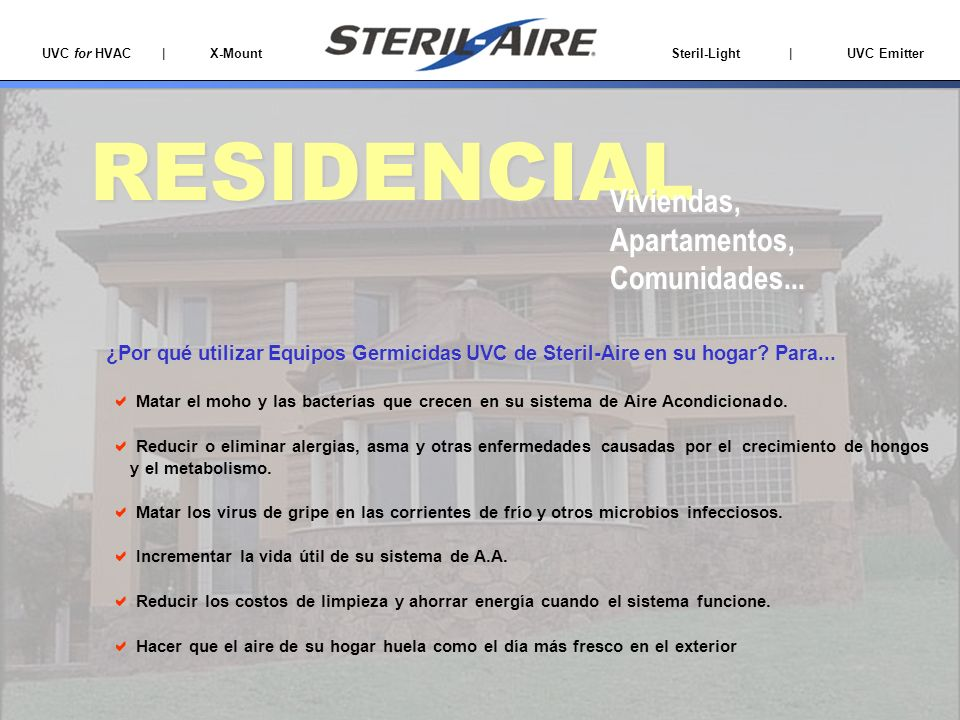 RESIDENCIAL Viviendas, Apartamentos, Comunidades...