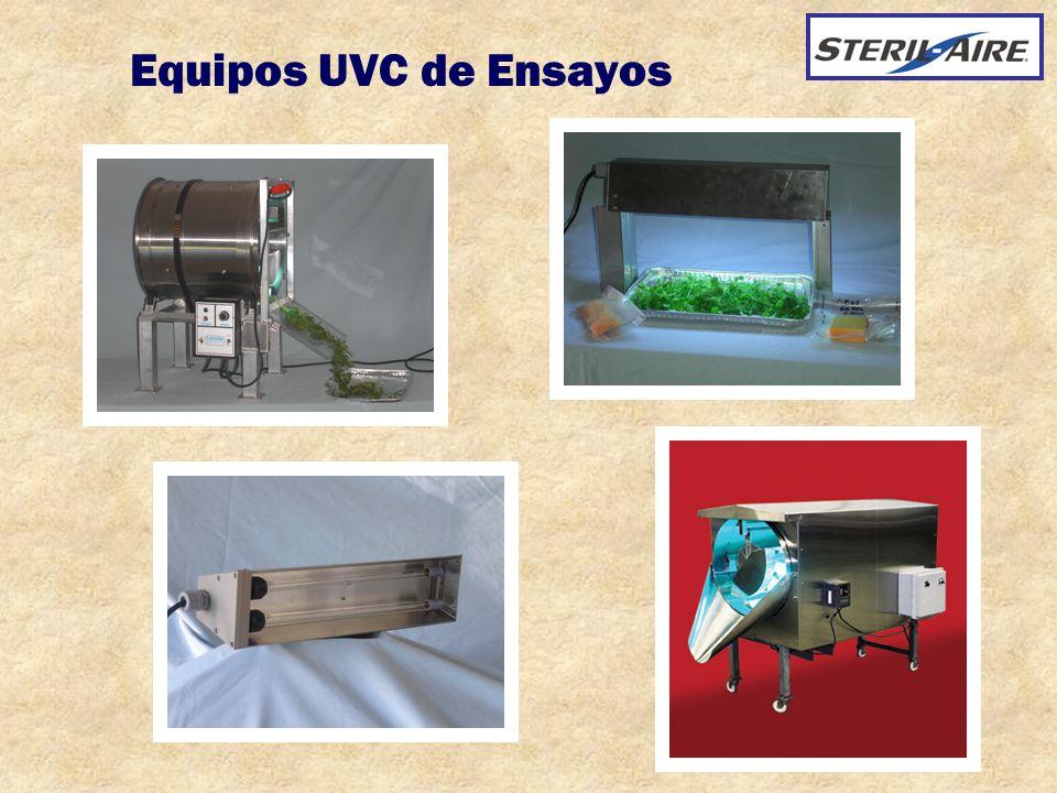 Equipos UVC de Ensayos