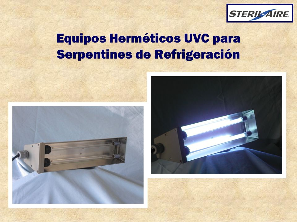 Equipos Herméticos UVC para Serpentines de Refrigeración