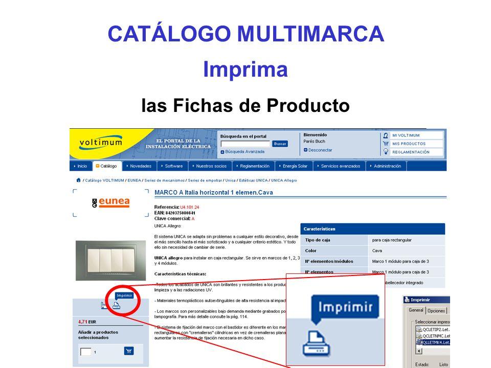CATÁLOGO MULTIMARCA Imprima