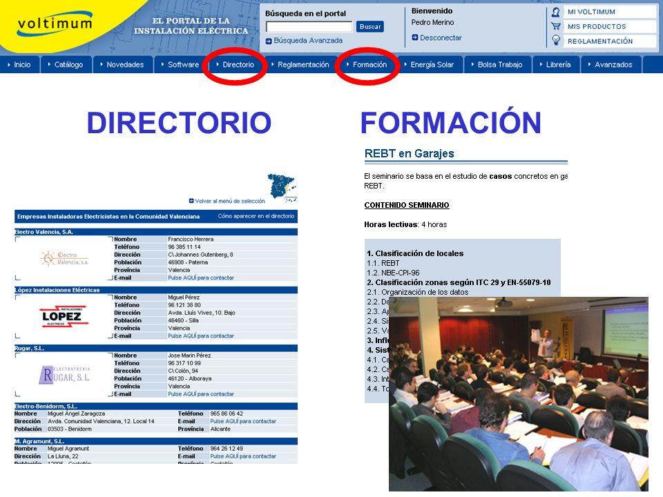DIRECTORIO FORMACIÓN