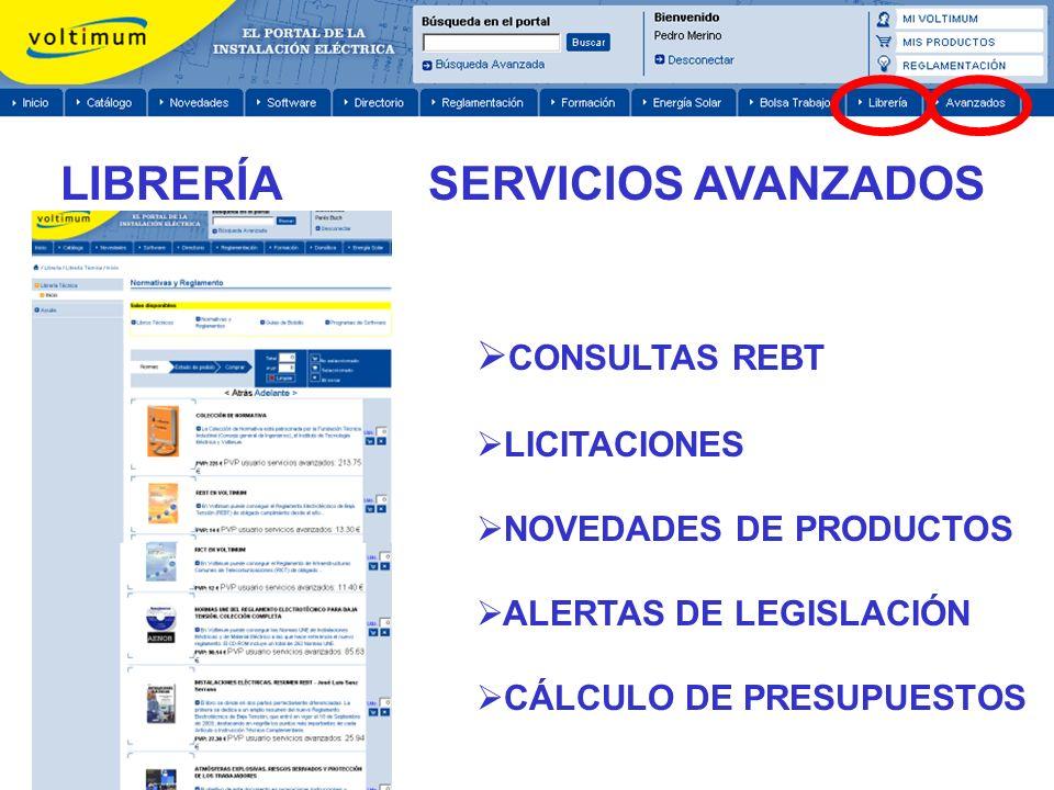 LIBRERÍA SERVICIOS AVANZADOS