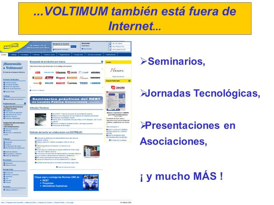 ...VOLTIMUM también está fuera de Internet...