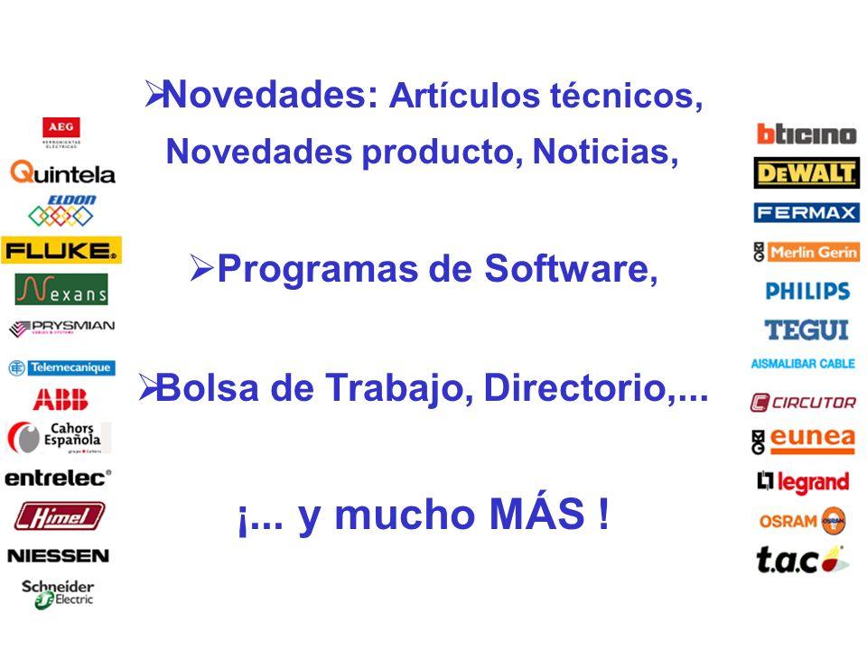 Novedades: Artículos técnicos, Novedades producto, Noticias,