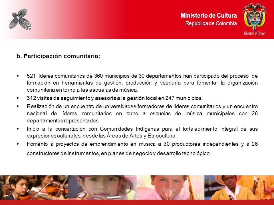 Ministerio de Cultura República de Colombia