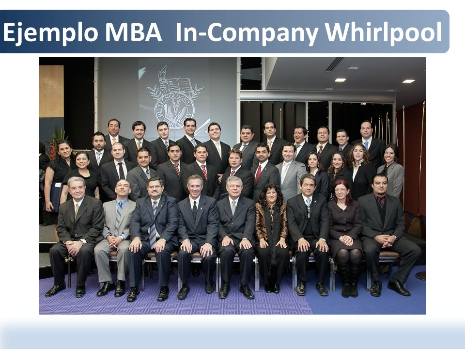 Ejemplo MBA In-Company Whirlpool